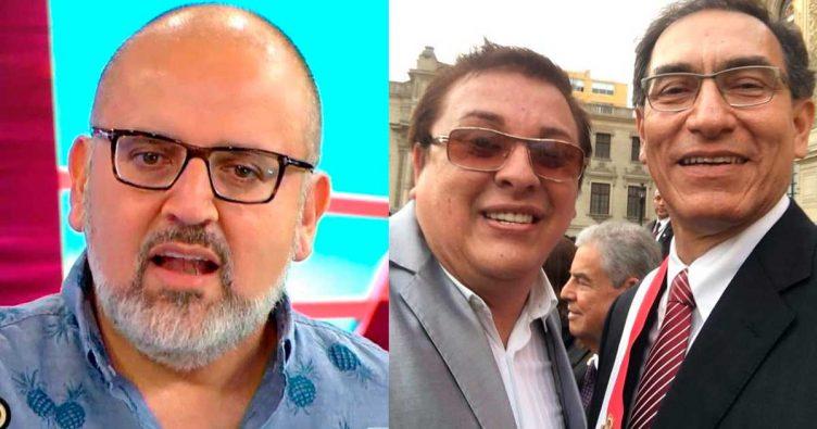 """Beto Ortiz: """"para conseguir una entrevista a Vizcarra teníamos que ..."""