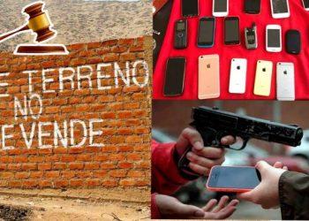 Presentan proyecto para combatir el tráfico de terreno y castigar a los que compran cosas robadas