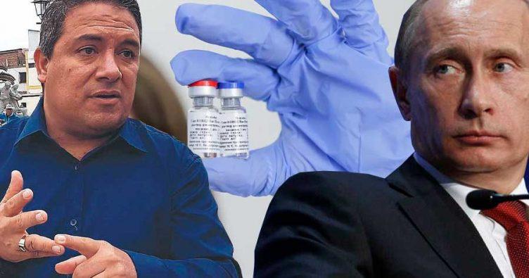 Alcalde de Moche, Arturo Fernández pidió a embajada rusa la vacuna ...
