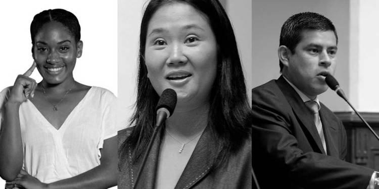 Fuerza Popular: Candidatos al Congreso, a la presidencia, vicepresidencia y al Parlamento Andino