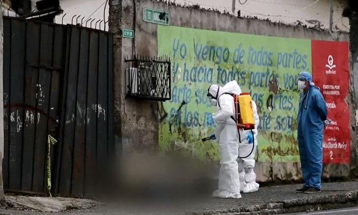 11 personas han muerto en las calles de Quito en el contexto de la Covid