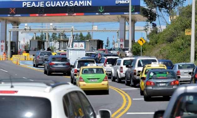 Peaje en carreteras se volverá a cobrar a partir del lunes 25 de mayo
