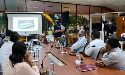 Prefectura socializa Plan Vial Emergente que se efectuará en zona rural
