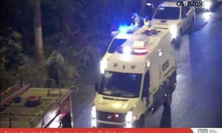 ECU 911 articuló atención de siniestro de tránsito en El Cabezón