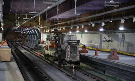 Alcalde constató el reinicio de trabajos del Metro de Quito