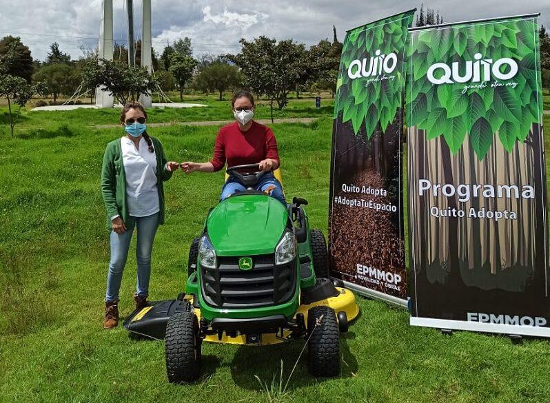Quito adopta los espacios verdes con corresponsabilidad de todos