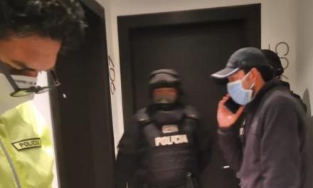 Detenido asambleísta Daniel Mendoza en Manabí