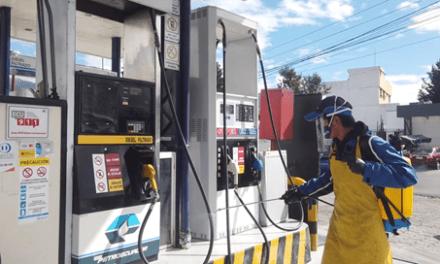 Petroecuador supervisa cumplimiento de medidas de bioseguridad en estaciones de servicio