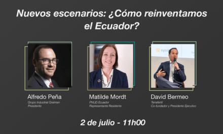 Primera mesa redonda de la iniciativa Reinventa Ecuador