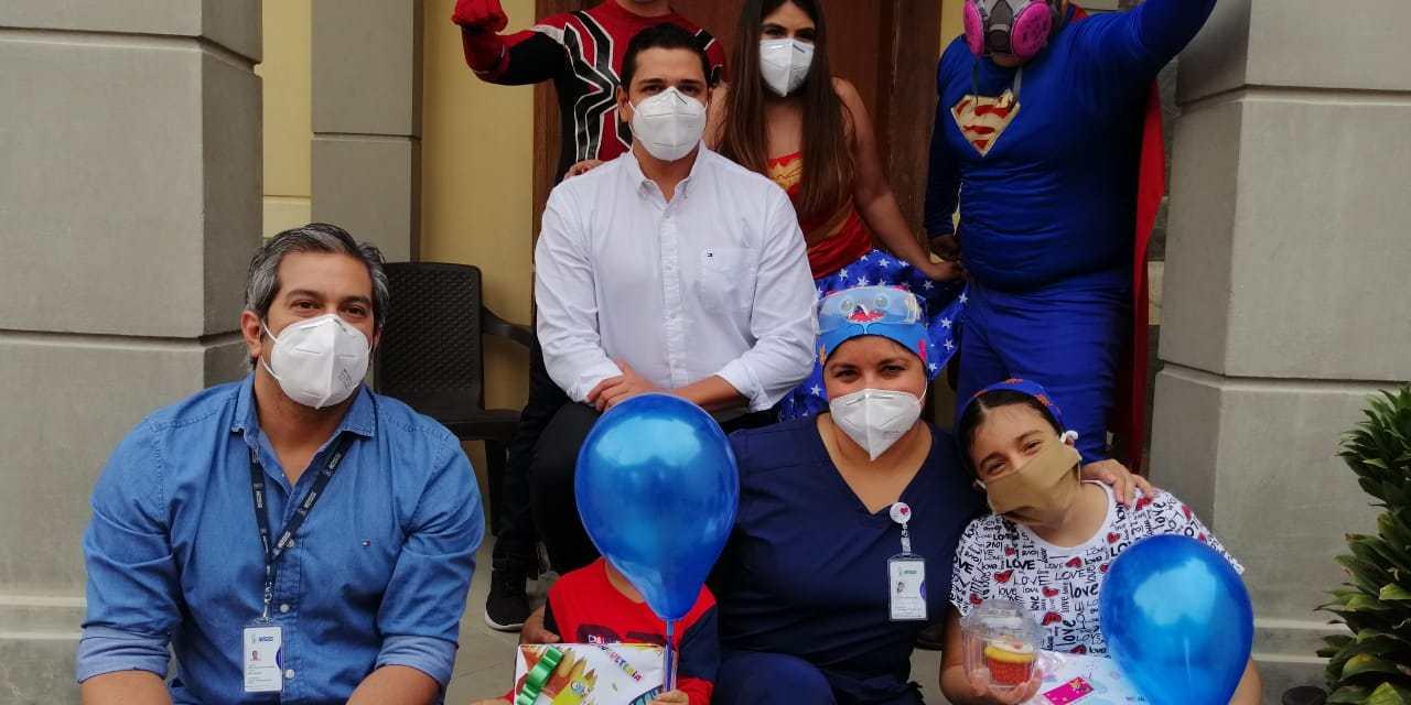 Hospital del Día Norte Tarqui brinda alegría a los más pequeños