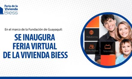 En Guayaquil: se inaugura feria virtual de la vivienda Biess