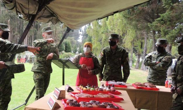 Brigada de Artillería Portete expone conocimientos adquiridos