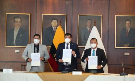 Economía Popular y Solidaria será impulsada mediante firma de convenio interinstitucional
