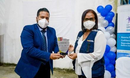 Profesionales de la salud de Esmeraldas destacan labor de la gobernadora