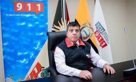 Juan Carlos Suárez asumió la dirección del ECU 911 Santo Domingo