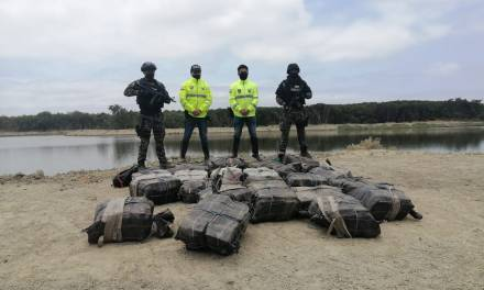 La Policía decomisó una tonelada 748 kilos de cocaína