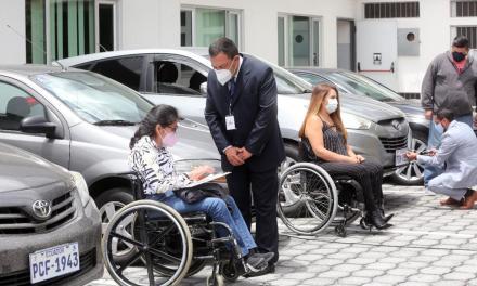 Lanzamiento de la primera fase de la placa vehicular diferenciada para personas con discapacidad