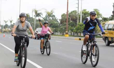 Con protocolos de bioseguridad, vuelve Samborondón en bici