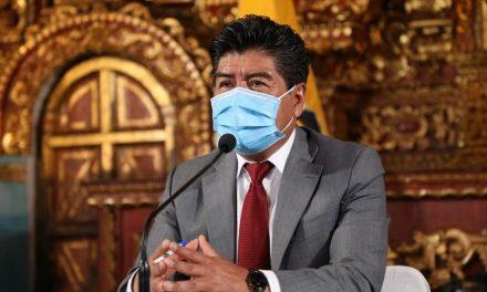 El Alcalde Jorge Yunda dio positivo a COVID-19