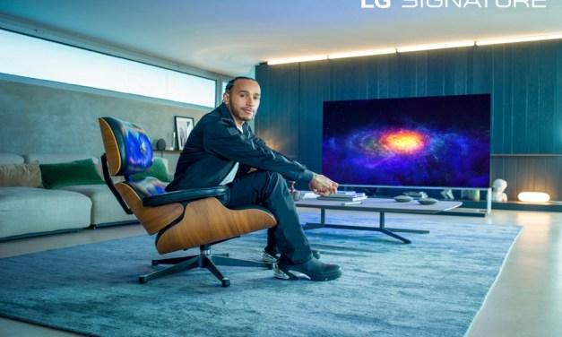 Lewis Hamilton, SEIS VECES CAMPEÓN MUNDIAL DE FÓRMULA UNO, nombrado embajador por LG Signature Brand