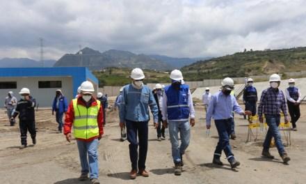Nuevo sistema de transmisión Tabacundo-Pimampiro reporta un avance del 85.35%