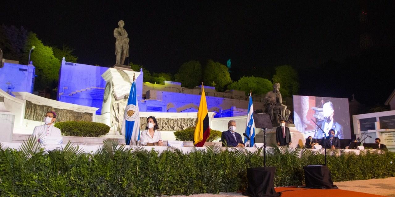 La Junta de Beneficencia de Guayaquil rinde homenaje a los Próceres de Octubre
