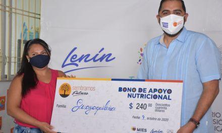 Familias de Guayaquil y Durán recibirán Bono de Apoyo Nutricional de 240 dólares