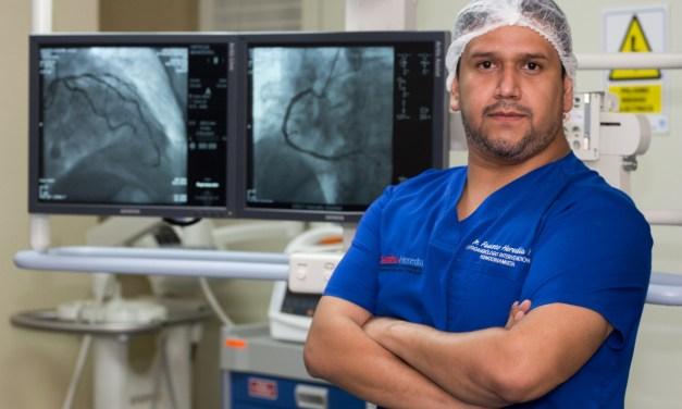 El cardiólogo Fausto Heredia, desarrolla una técnica para corregir la miocardiopatía hipertrófica