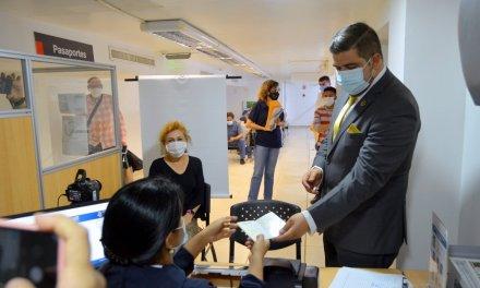 Registro Civil ha expedido 200 pasaportes biométricos