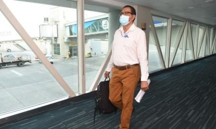 Se aplican estrictas medidas de bioseguridad durante el feriado en 21 aeropuertos del Ecuador
