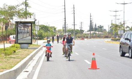 Décima edición de Samborondón en bici tuvo una masiva participación