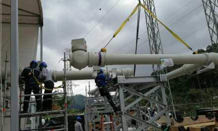 Inicia montaje de subestación GIS del proyecto hidroeléctrico Toachi Pilatón