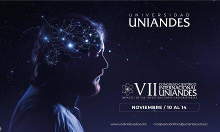 UNIANDES realiza el VII Congreso Internacional Científico de manera virtual
