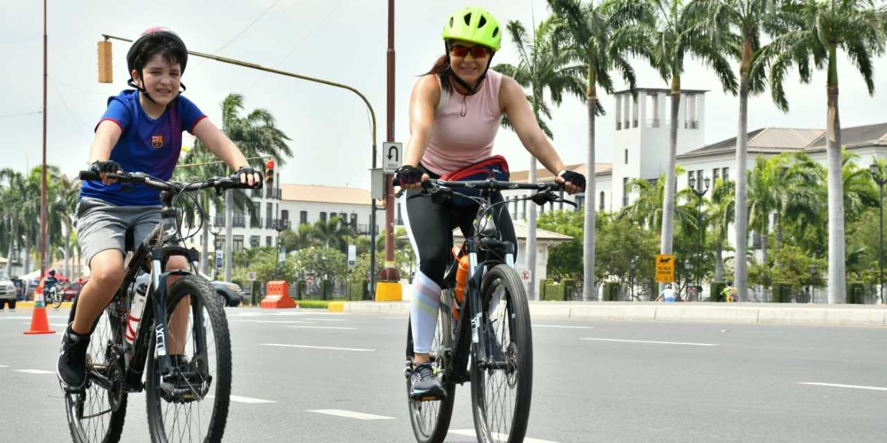 Más de dos mil personas participaron en la edición Nro. 11 de 'Samborondón en bici'