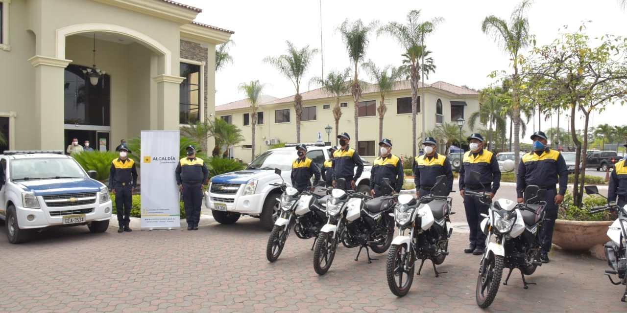 El cantón Samborondón refuerza su seguridad