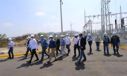 1,3 millones de habitantes de Manabí se benefician del nuevo sistema de transmisión La Concordia – Pedernales
