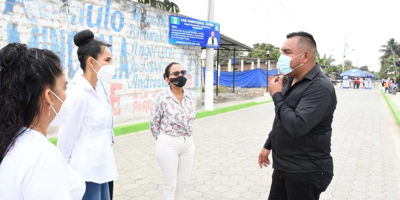 Gobiernos Parroquiales impulsan una serie de obras en sus comunidades