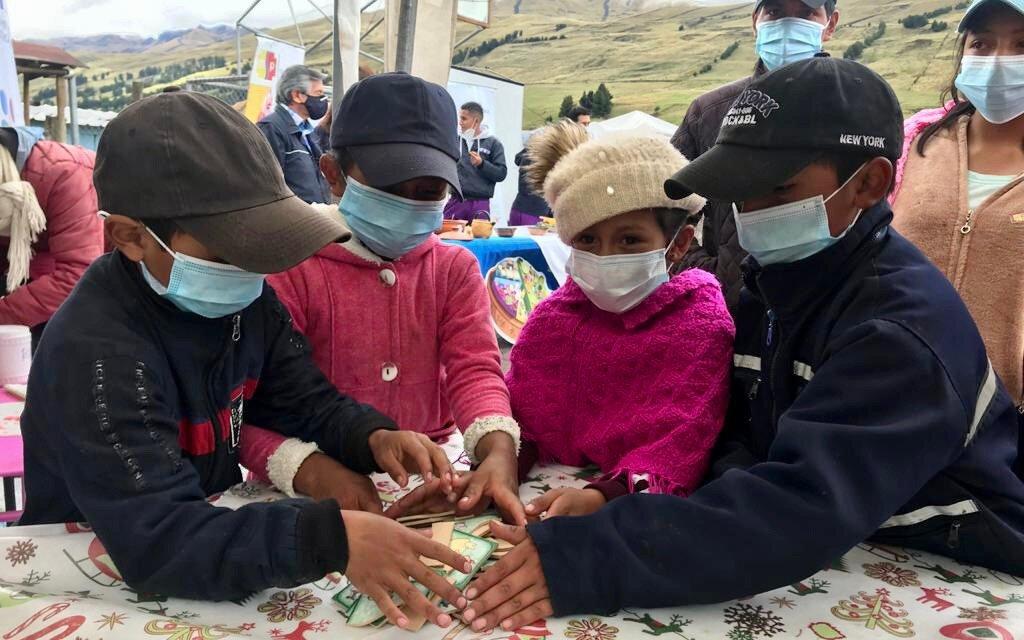 400 niños y niñas serán cedulados en Guamote la próxima semana