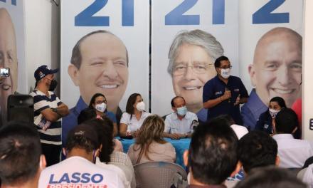 Juan Flores hace un llamado a respaldar el proyecto de Guillermo Lasso