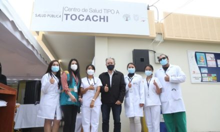 Ministerio de Salud repotenció el Centro de Salud Tocachi, al norte de Pichincha