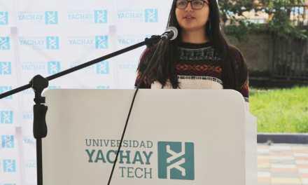 """Estudiante de Yachay Tech gana beca para el programa """"Disruptive Woman Ecuador"""""""