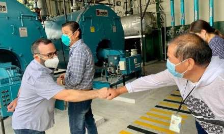 Jorge Wated anuncia que se actuará con firmeza para cambiar la cara del HTMC