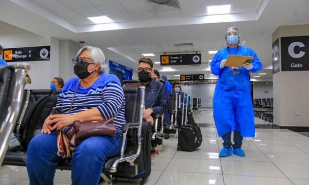 DGAC: vía aérea se movilizaron cerca de 2 millones 500 mil pasajeros en el 2020
