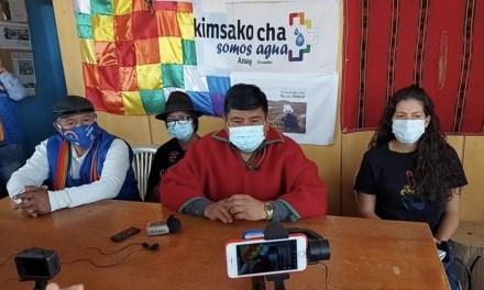 Indígenas anuncian movilizaciones a partir de esta media noche