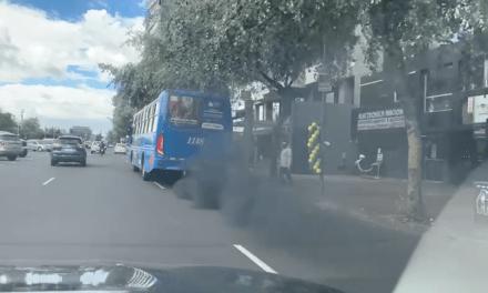 Contaminación en Avenida de los Shyris
