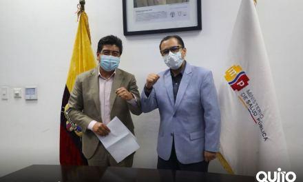 Yunda logra acuerdo para destinar 3.2 millones de vacunas para Quito