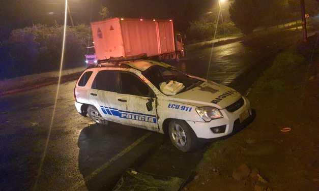 Policía fallece en persecución por robo de automotor