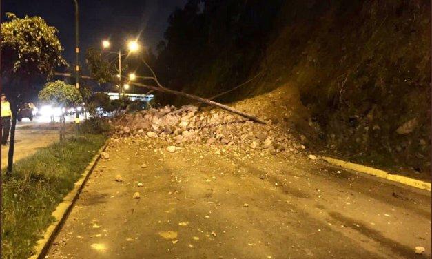 No habrá paso vehicular por la avenida Rumiñahui hasta el lunes 5 de abril