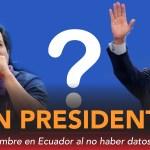 Sin presidente