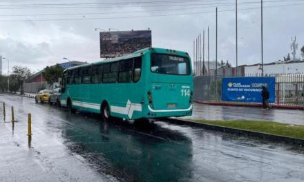 Municipio facilita transporte para personas que se movilicen a vacunarse